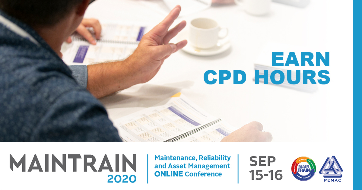 Earn CPD Hours at MainTrain