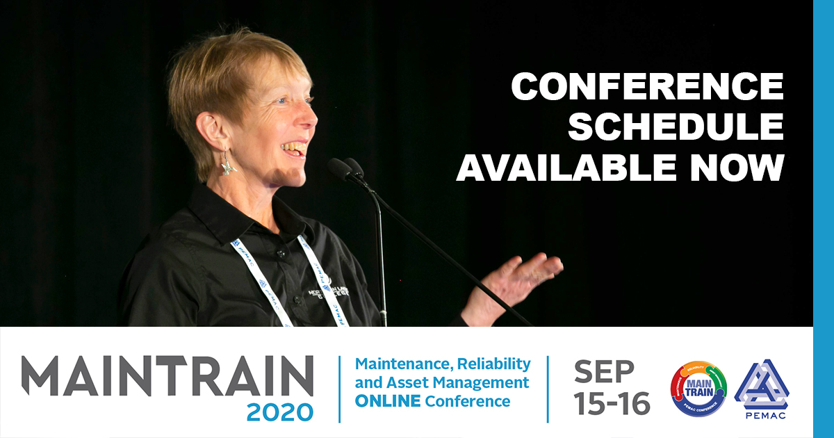 The MainTrain Conference Schedule is currently available