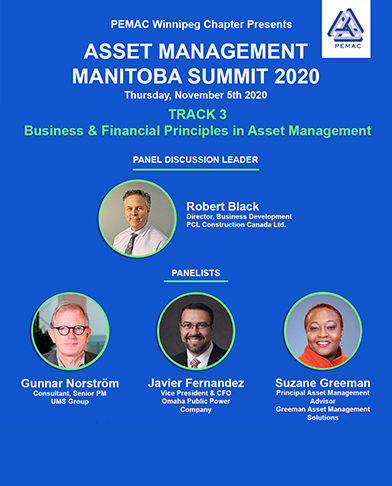 Track 3 of AMMS 2020 focused on Business & Financial Principles in Asset Management