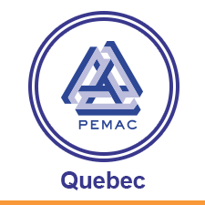 The PEMAC Quebec Chapter Logo