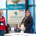 Northern lakes college booth at the MainTrain Conference